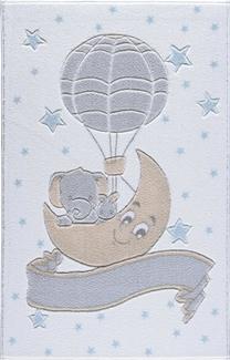 Confetti New Moon Beyaz Oymalı Çocuk Halısı