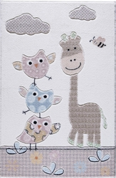 Confetti Stability Kum Oymalı Çocuk Halısı - Thumbnail
