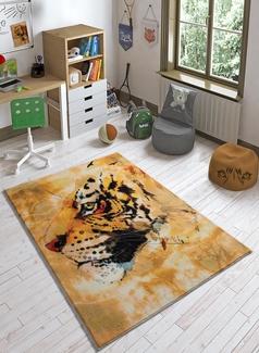 Confetti Sumatran Tiger Hardal Çocuk Halısı