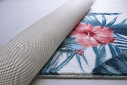 Hibiscus Mercan Banyo Halısı - Thumbnail