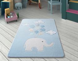SWEET ELEPHANT A.MAVİ OYMALI - Thumbnail